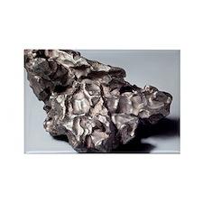 Iron meteorite fragment - Rectangle Magnet