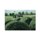 Silage bales - Rectangle Magnet
