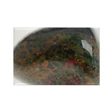 Heliotrope, or bloodstone - Rectangle Magnet
