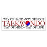 TKD Philosophy Bumper Stickers