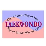TKD Philosophy Postcards (Package of 8)