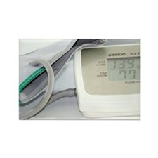 Digital blood pressure monitor - Rectangle Magnet