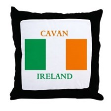 Cavan Ireland Throw Pillow