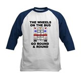 Ambulance Wheels Go Round Tee