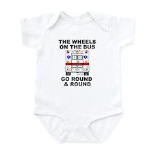 Ambulance Wheels Go Round Infant Bodysuit
