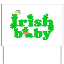 Irish Baby Yard Sign