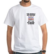 Ambulance Wheels Go Round Shirt