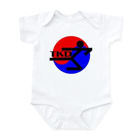 TKD Flying Side Kick Infant Creeper