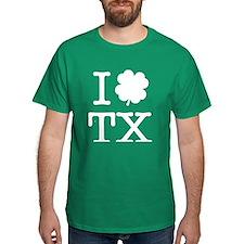 I Shamrock TX T-Shirt