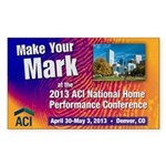 2013 ACI National Conference Sticker
