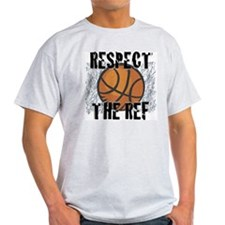 Respect the Basketball Ref Ash Grey T-Shirt