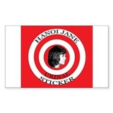 "3"" Hanoi Jane Urinal Decal (48 pk) Decal"