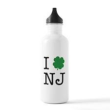 I Shamrock NJ Water Bottle