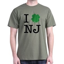 I Shamrock NJ T-Shirt