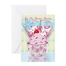 Retro Mother's Day Greeting Card Yummy Mummy