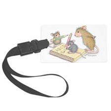 Mice Penmanship Luggage Tag