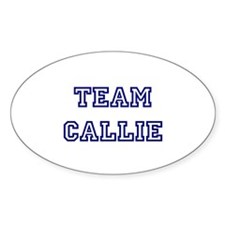 Team Callie Oval Decal