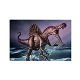 Spinosaurus dinosaur - Rectangle Magnet (10 pk)
