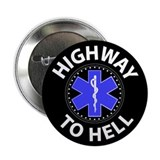 "Highway to Hell, Tire 2.25"" Button (100 pack)"
