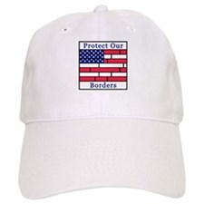 Brick Flag, Protect Our Borde Baseball Cap