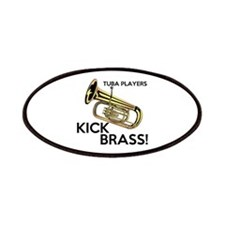 Tuba Players Kick Brass Patches