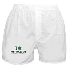 I Shamrock Chicago Boxer Shorts