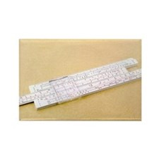 Logarithmic slide rule - Rectangle Magnet (10 pk)