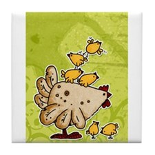 Cool Poultry Tile Coaster