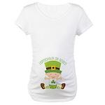 Leprechaun St Patricks Maternity Maternity T-Shirt
