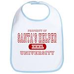 Santa's Helper University Bib