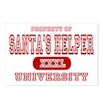 Santa's Helper University Postcards (Package of 8)