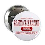 Santa's Helper University Button