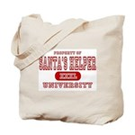 Santa's Helper University Tote Bag