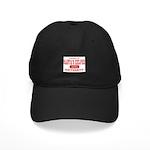 Santa's Helper University Black Cap