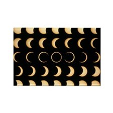 olar eclipse - Rectangle Magnet (10 pk)