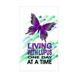 Lupus Awareness Rectangle Decal