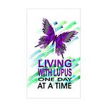 Lupus Awareness Rectangle Sticker