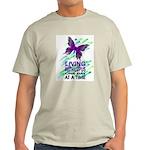 Lupus Awareness Ash Grey T-Shirt