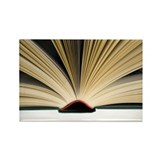 Open book - Rectangle Magnet (100 pk)