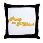 Pimp My T-Shirt Throw Pillow
