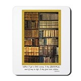 Erasmus Quote Mousepad