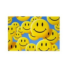 Smiley face symbols - Rectangle Magnet (100 pk)