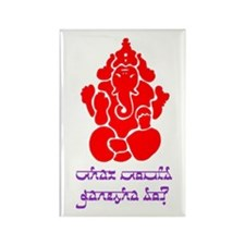 What Would Ganesha Do? Rectangle Magnet (100 pack)