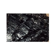 Anthracite coal - Rectangle Magnet (100 pk)