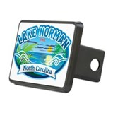 Lake Norman Waterview Hitch Cover