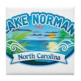 Lake Norman Waterview Tile Coaster