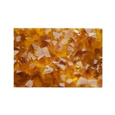 Citrine crystals - Rectangle Magnet (100 pk)