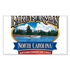 Lake Norman Waterfront Logo Decal