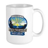 Lake Norman Sun Rays Logo Mug