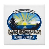 Lake norman sun rays Drink Coasters